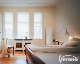 Raamdecoratie trends in de slaapkamer & plissegordijnen